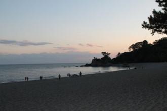 2-11桂浜(日の入前)