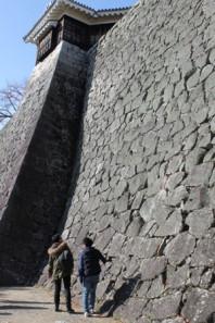 1-3松山城石垣