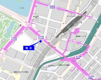 地図:日比谷頴川ビル