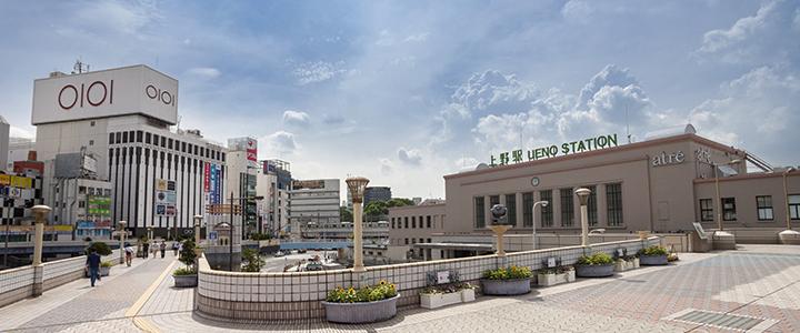 オフィスの快適性は? 上野駅の周辺情報から考える【サンフロンティア ...